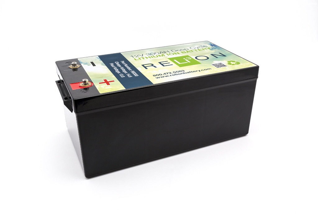 LiFePo4 - Safe Battery-12V 300AH RELiON